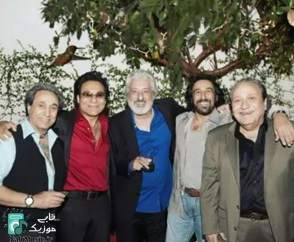 بزرگان موسیقی ایران شهرام شب پره ، مارتیک ، اندی ، شهبال شب پره ، ابی